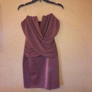 Brand new pink strapless dress!